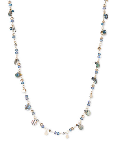 Lonna & Lilly Iridescent Skies Long Necklace-MULTI-One Size