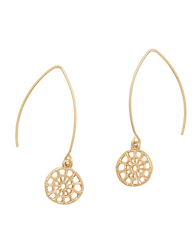 Lonna & Lilly Filigree Pierced Earrings-GOLD-One Size