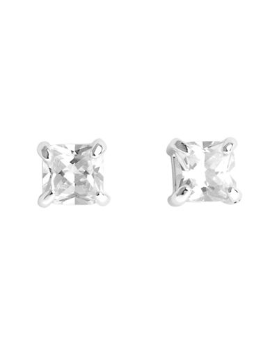 Nine West Crystal Stud Earring-CRYSTAL-One Size