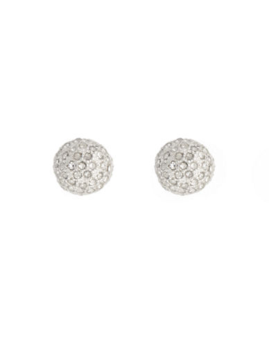 Anne Klein Fireball Stud Earring-CRYSTAL-One Size