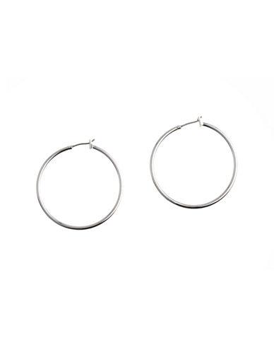 Anne Klein Hoop Earring-SILVER-One Size