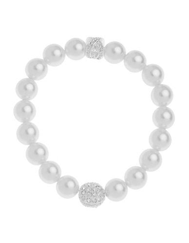 Cezanne Stretch Pearl Bracelet-IVORY-One Size