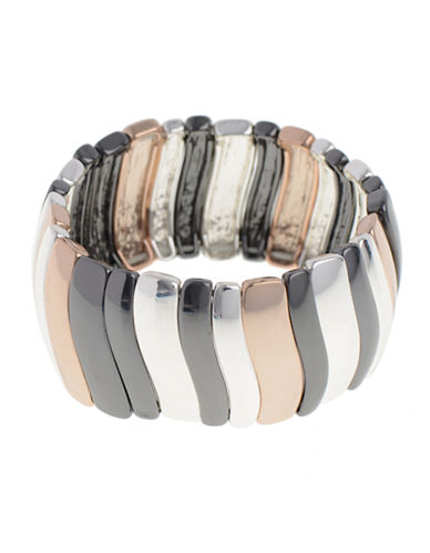 Nine West Stretch Bracelet-TRI COLOUR-One Size