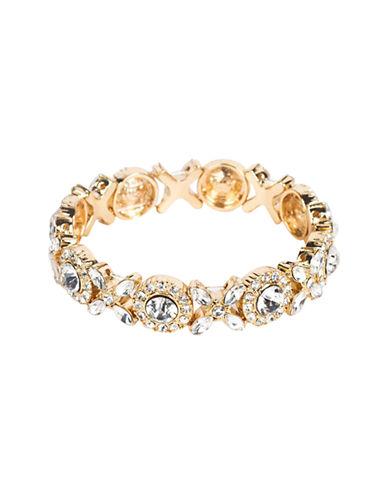 Cezanne Rhinestone Stretch Bracelet-CRYSTAL-One Size