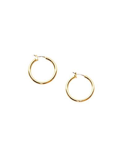 Anne Klein Hoop Earrings-GOLD-One Size