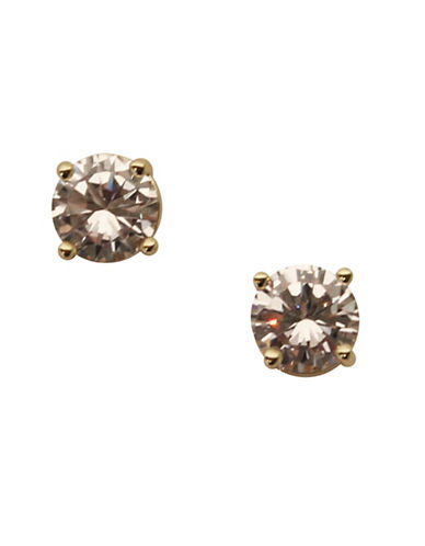 Anne Klein Stud Earrings-GOLD-One Size