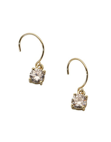 Anne Klein Drop Earrings-GOLD-One Size