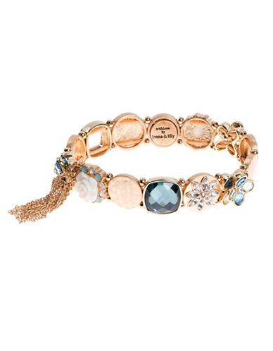 Lonna & Lilly Opal Stretch Bracelet-MULTI-One Size