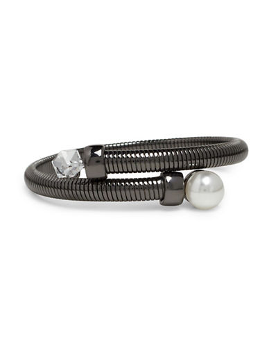 Garbo Cobra Coil Wrap Bracelet-GREY-One Size