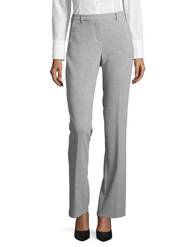 Ellen Tracy Signature Trousers-SLATE HEATHER-6