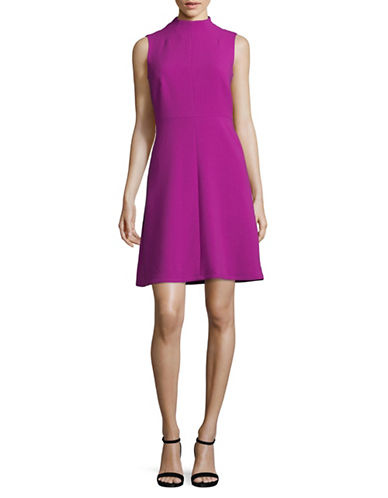 Ellen Tracy Seamed A-Line Dress-VIOLA-2
