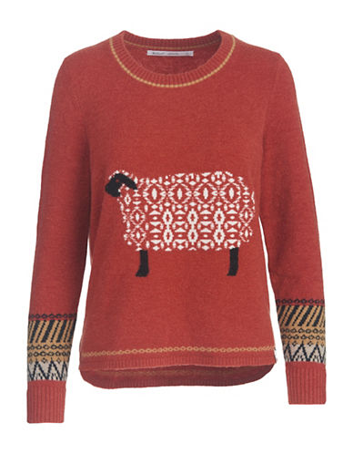 Woolrich Long Sleeve Sweater-TERRACOTTA-X-Large