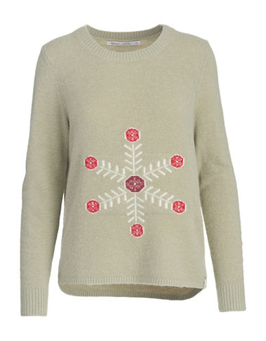 Woolrich Long Sleeve Sweater-NATURAL-Large