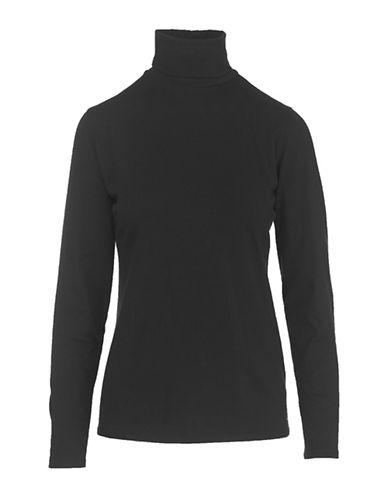 Woolrich Long Sleeve Sweatshirt-BLACK-X-Small