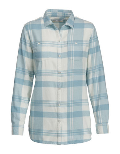 Woolrich Flannel Cotton Sport Shirt-IVORY-Small