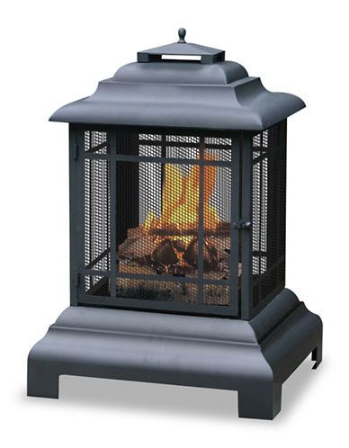 Blue Rhino Wood Burning Chimney-BLACK-One Size