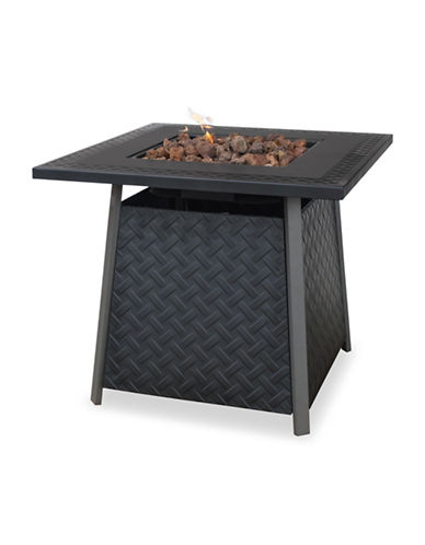 Blue Rhino Outdoor Mantel Firebowl-BLACK-One Size
