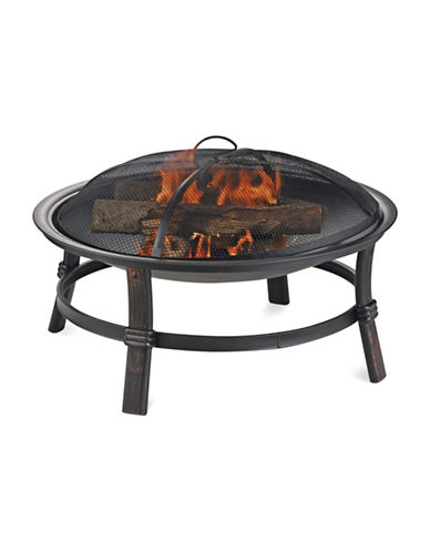 Blue Rhino Wood Burning Firebowl-BLACK-One Size