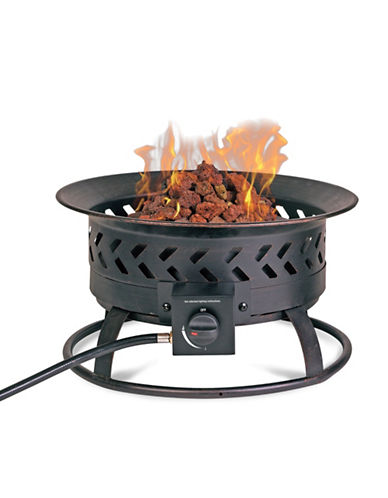 Blue Rhino Gas Portable Outdoor Firebowl-BLACK-One Size