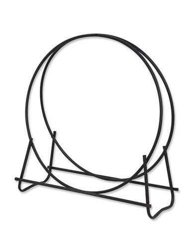 Blue Rhino Tubular Log Hoop-BLACK-One Size
