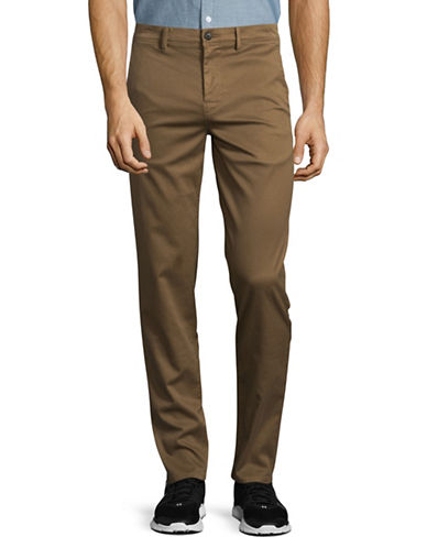 Boss Orange Schino Tapered Pants-DARK BEIGE-30X34