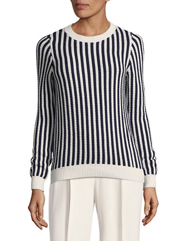 Hugo Sadiya Striped Sweater-GREY-X-Small