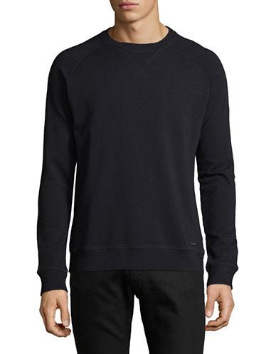 Boss Orange Classic Stretch Sweater-BLUE-Medium