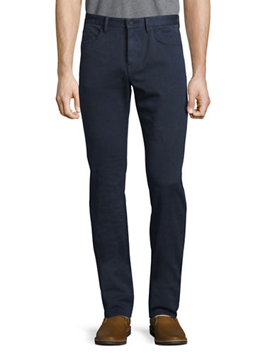 Boss Green C-Delaware Slim-Fit Pants-NAVY-30X34