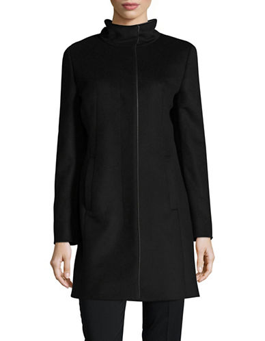Hugo Maluba Wool Coat-BLACK-EUR 36/US 4
