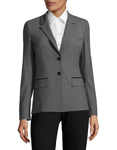 Hugo Agnera Suit Jacket-GREY-EUR 36/US 4