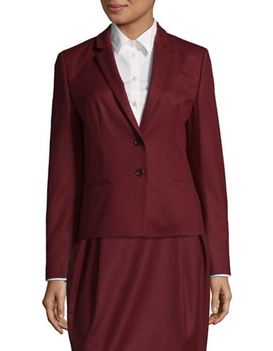 Hugo Afrona Stretch-Cotton Jacket-RED-EUR 36/US 4