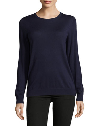 Hugo Sedella Virgin Wool Sweater-BLUE-Large
