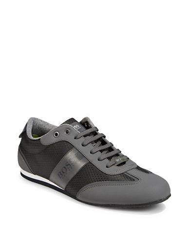 Boss Green Lighter Low-Top Sneakers-DARK GREY-11