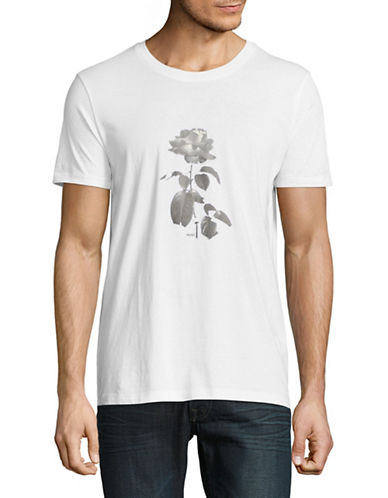 Hugo Graphic Cotton Tee-WHITE-X-Large 89754031_WHITE_X-Large