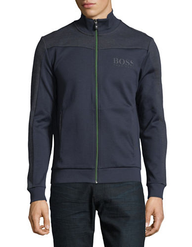 Boss Green Piped Track Jacket-NAVY-4/Medium 90030684_NAVY_4/Medium