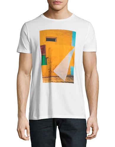 Boss Orange Turbulent Cotton Tee-WHITE-X-Large 89727300_WHITE_X-Large