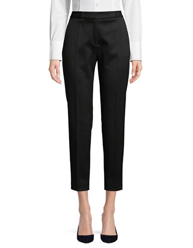Hugo Hefena Pique Pants-BLACK-EUR 32/US 0