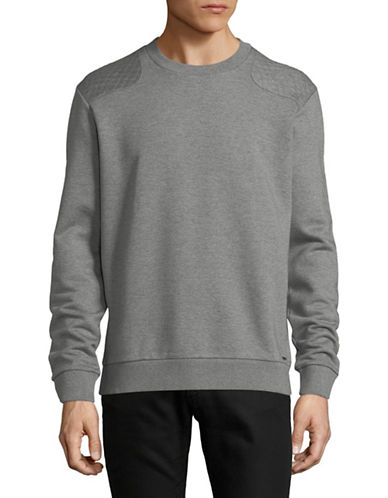 Hugo Danderas Cotton Sweatshirt-GREY-X-Large 89753946_GREY_X-Large