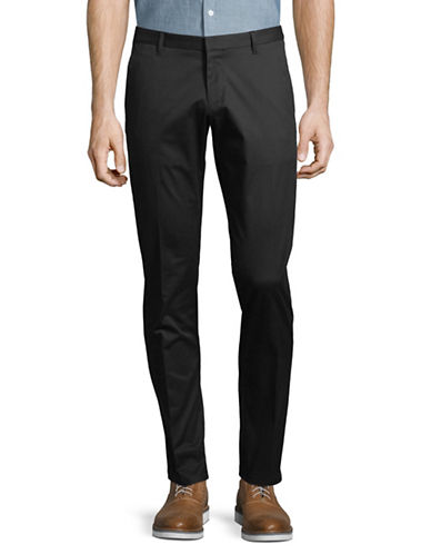 Hugo Henlin Tailored Trousers-BLACK-34