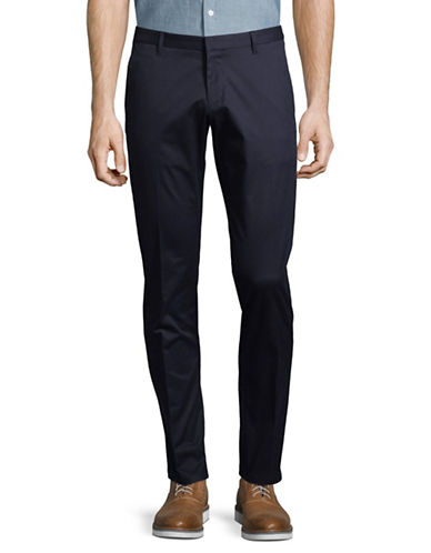 Hugo Henlin Tailored Trousers-BLUE-40