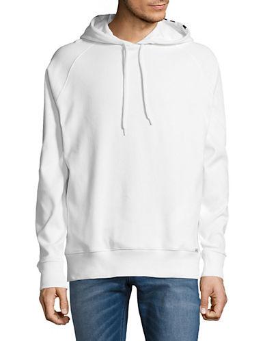 Hugo Dayfun Cotton Hoodie-WHITE-Small 90022977_WHITE_Small