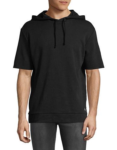 Hugo Drib Short-Sleeve Hoodie-BLACK-X-Large 90023061_BLACK_X-Large