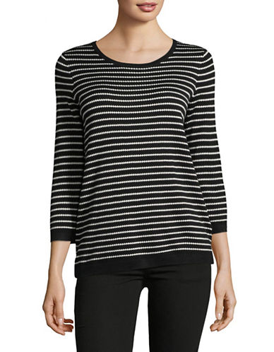 Hugo Sasiara Silk-Blend Striped Top 89834447
