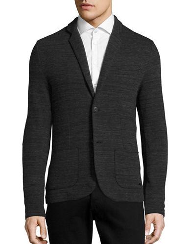 Boss Orange Wellford Knit Jacket-BLUE-X-Large 88824642_BLUE_X-Large