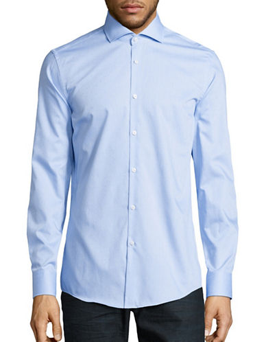 Hugo C-Jason Slim-Fit Sport Shirt-LIGHT BLUE-EU 42/US 16.5
