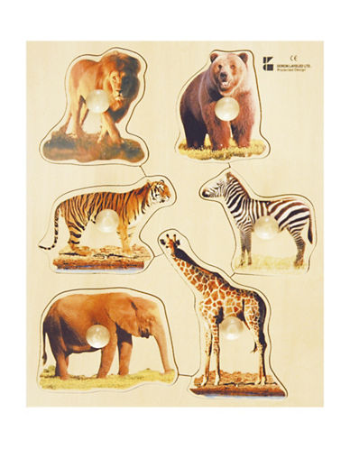 Edushape Wild Animals Puzzle-MULTI-One Size