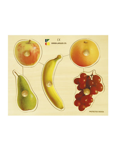 Edushape Fruits Large Knob Puzzle-MULTI-One Size