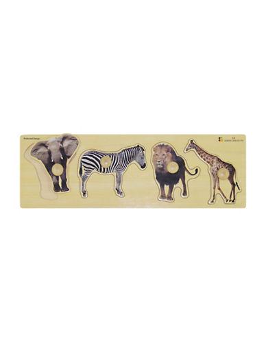 Edushape Giant Wild Animals Puzzle-MULTI-One Size