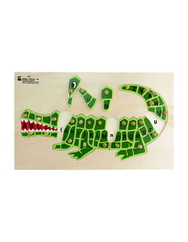 Edushape ABC Alligator Puzzle-MULTI-One Size
