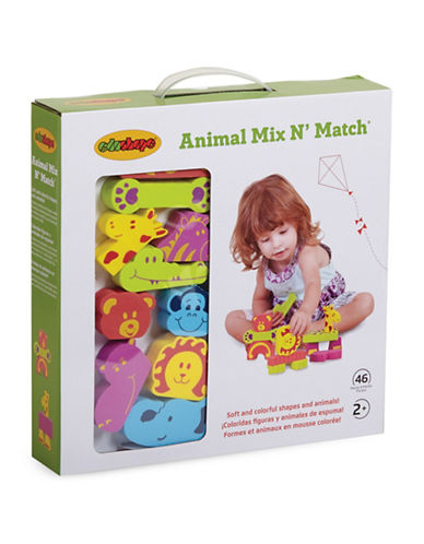 Edushape Animal Mix N Match Toy Set-MULTI-One Size